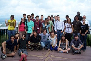 Photo of the international students