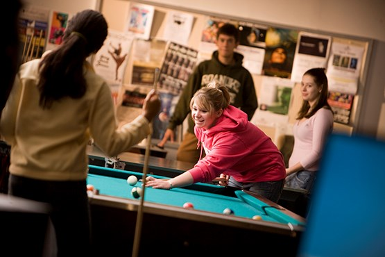 student life recreational sports and sporting facilities game room