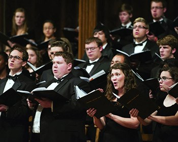 Roanoke College Choir and Oriana Singers: Lessons & Carols