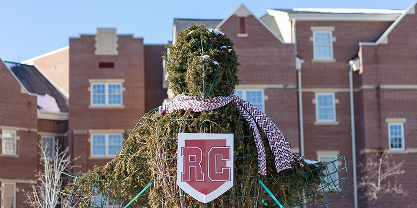 Roony Topiary with scarf