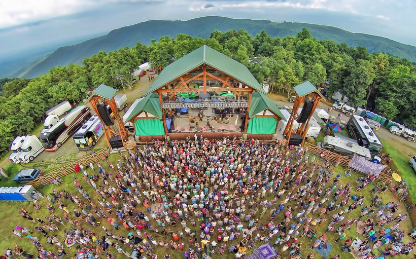 A large crown congregates at FloydFest