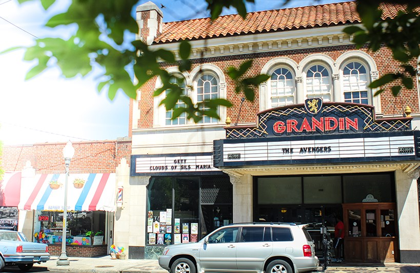 A photo of the Grandin theater