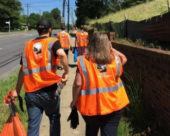 Charlotte Alumni Chapter: Highway Clean-Up