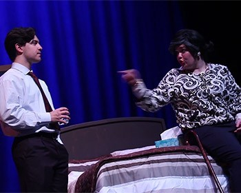 "Students discuss roles in off-Broadway hit, ""Becky Shaw"" (with video)"