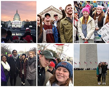 Roanoke students witness history in Washington, D.C.