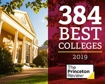 Roanoke College makes 8th appearance in The Princeton Review