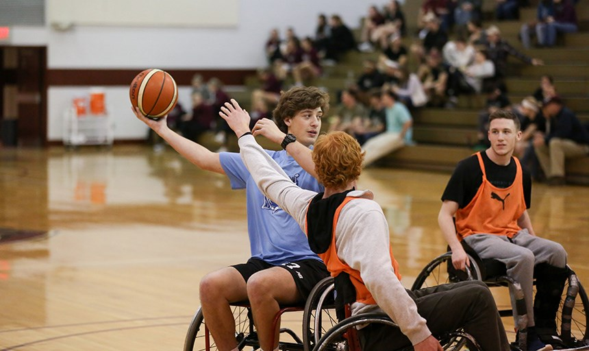 3v3 Wheelchair Basketball Event