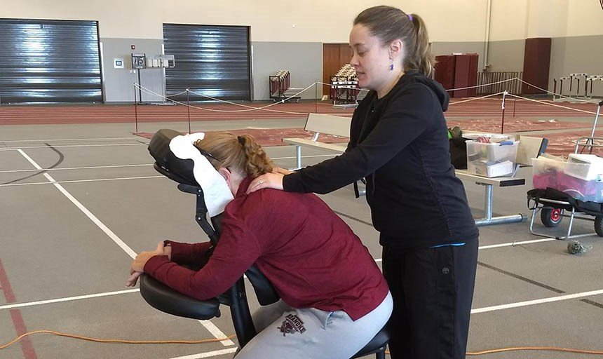MaroonsRWell Faculty and Staff Chair Massages