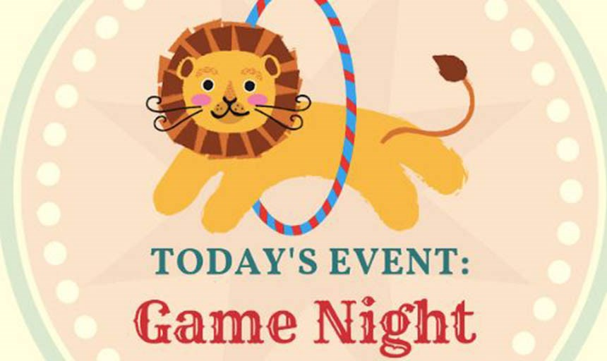 Gamma Sigma Sigma Game Night