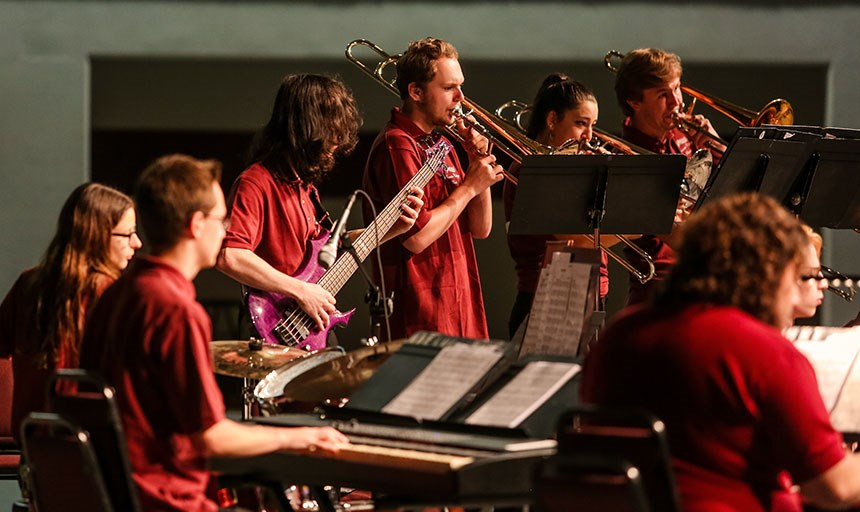 RC Jazz and Wind Ensembles Joint Concert