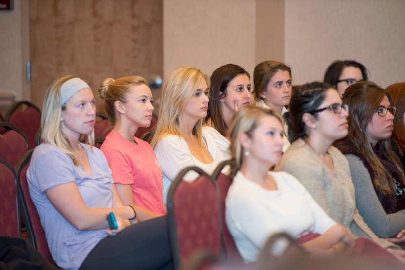 Photo of the audience at the Gender and Women's Studies Forum