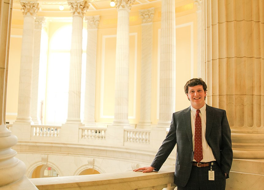 Roanoke student in U.S. House of Represenatives