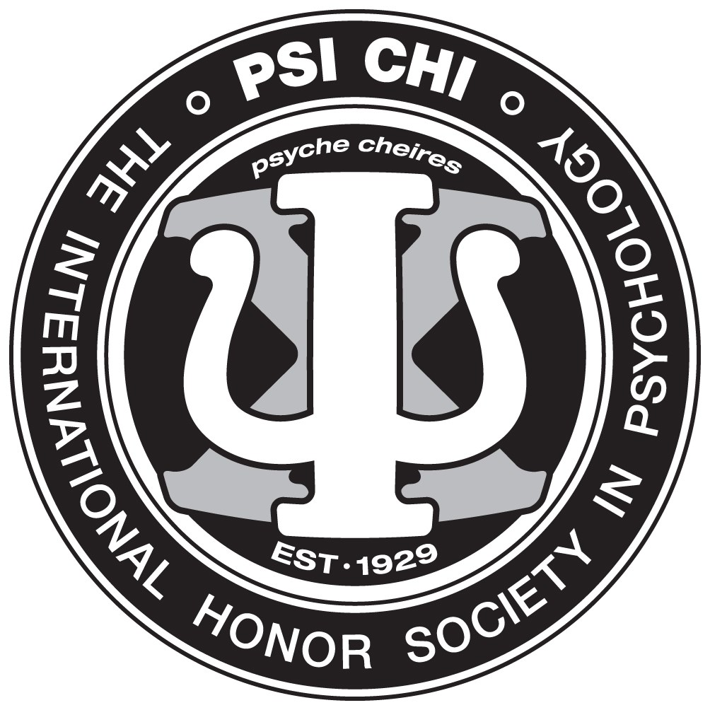 psi chi national honor society in psychology logo