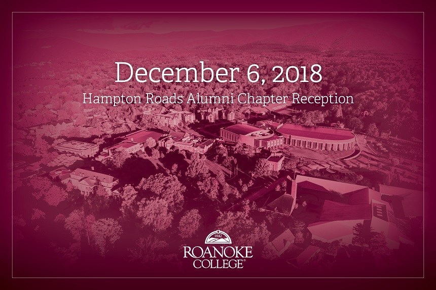 Hampton Roads Annual Chapter Reception