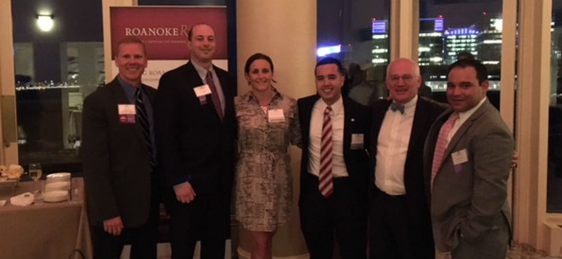 Alumni chapter at a New England Reception