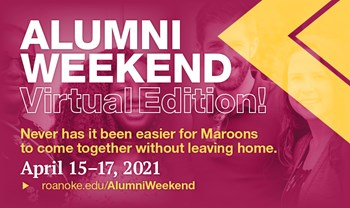 Alumni Weekend: Virtual Edition