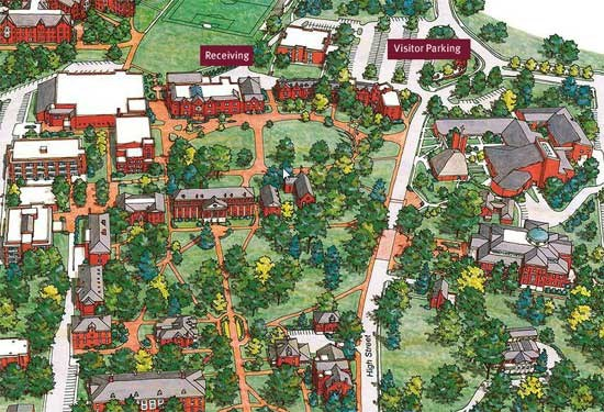 Directions map of roanoke college campus publicscrutiny Images