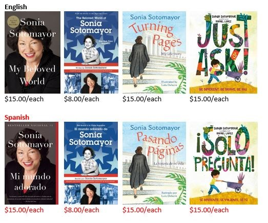 Books by Sonia Sotomayor