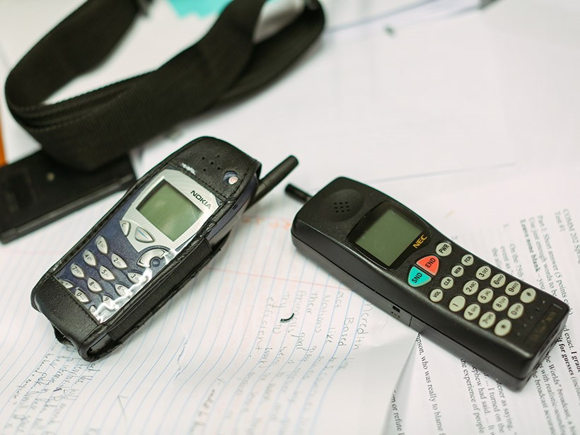 Old cellphones