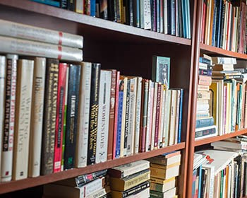 Faculty and alumni books are wide-ranging and well-received