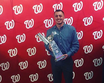Roanoke grad is living the World Series dream with Nationals role