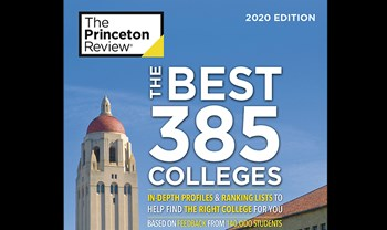 Roanoke featured in Princeton Review's Best 385 Colleges