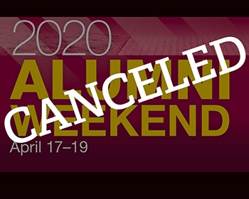 Alumni Weekend 2020 Canceled