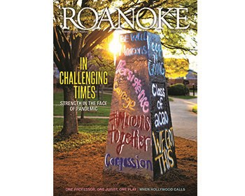 Previewing now: the new issue of Roanoke College magazine