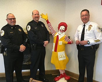 Campus Safety Office supports Ronald McDonald House