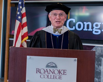 President Maxey's remarks from the Conferral of Degrees ceremony