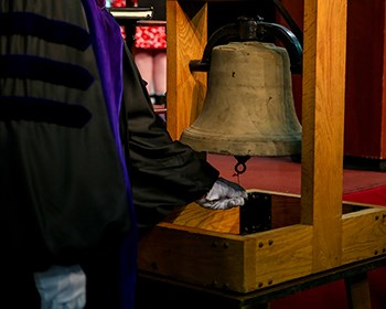 Conferring of Degree ceremony taking place online May 2