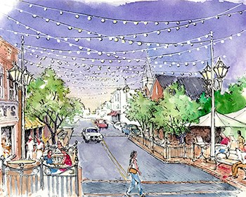 Salem streetscaping project begins on College Avenue
