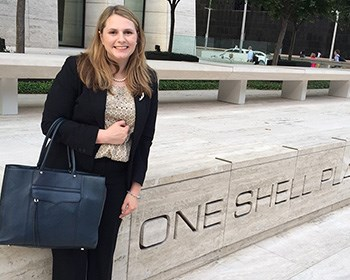 Corporate internship and global studies inspire Dever's career goal