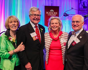 Former Roanoke presidents receive College medal