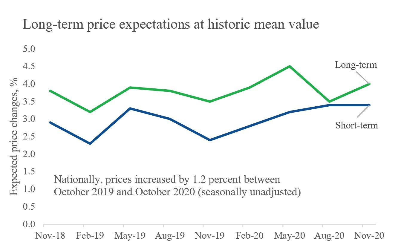 Figure 5. Short- and long-term price expectations