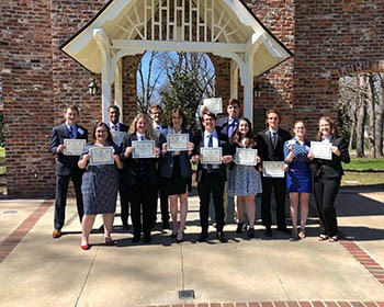 Roanoke Model UN and Arab League delegations place at national and regional conferences