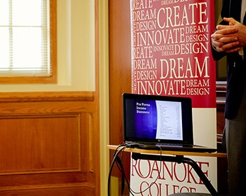 Students devise business plans for startups as part of Innovation Challenge