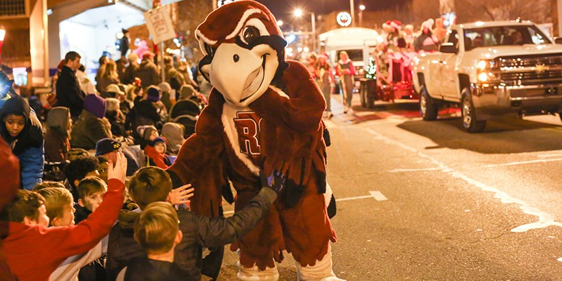 Rooney at the SAlem Christmas Parade