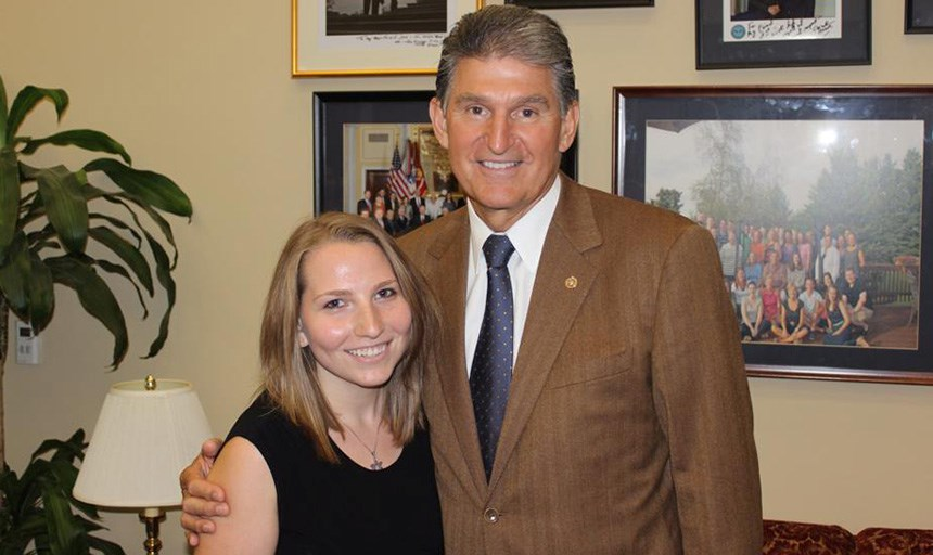 Urecki and Sen. Manchin