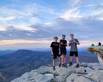 Freshmen hike 37 miles in 17 hours for Earthbound fundraiser