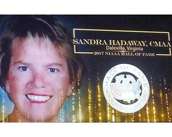 Hadaway inducted into National Hall of Fame for ADs