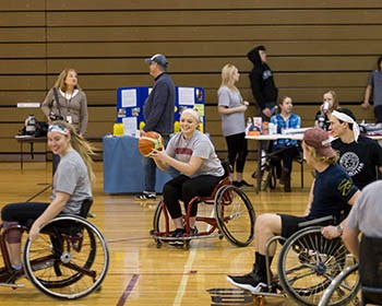 2nd Annual Wheel Chair Basketball
